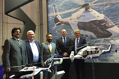 Falcon Aviation signs Letter of Intent for the VIP version of Airbus H160