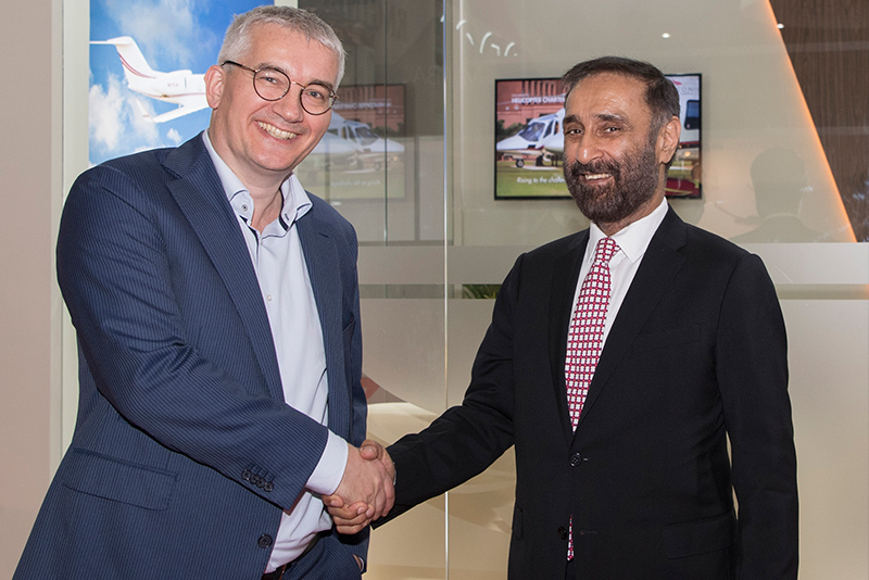 Falcon Aviation signs FBO One agreement