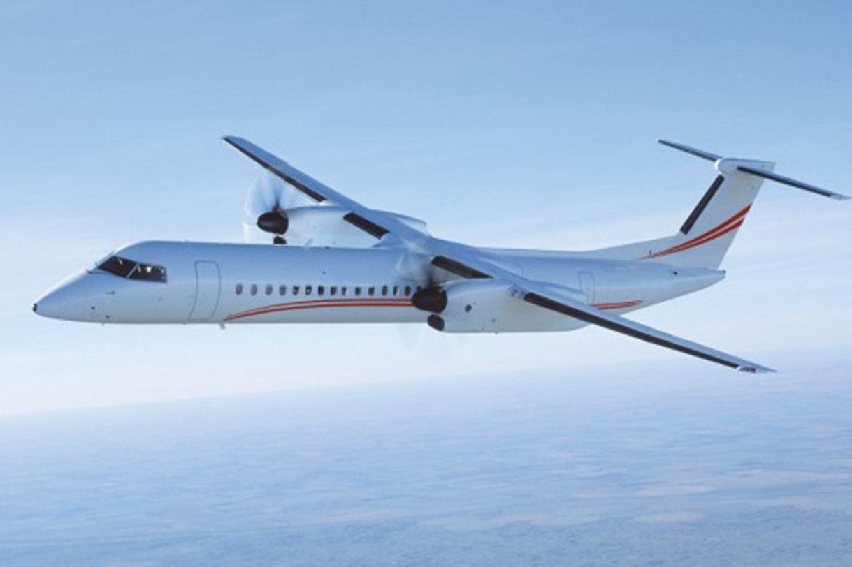 Falcon Increases it's MRO capabilities: Adds Q400 Base Maintenance at Al Bateen Facility